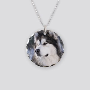 Call of the Wild Necklace Circle Charm