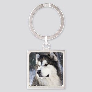 Call of the Wild Square Keychain
