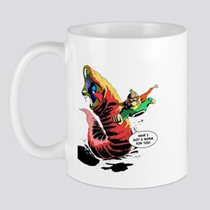 Crypto-Man & Death Worm Mug