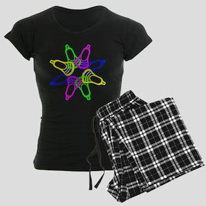 Lacrosse Neon Heads Pajamas