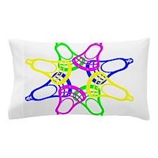 Lacrosse Neon Heads Pillow Case