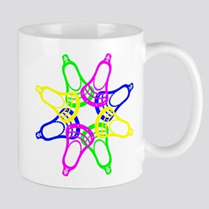 Lacrosse Neon Heads Mugs