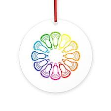 Lacrosse Spectrum Ornament (Round)