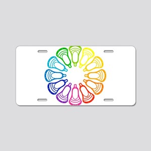 Lacrosse Spectrum Aluminum License Plate