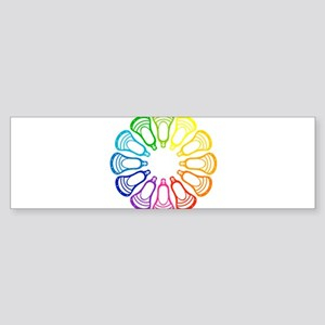Lacrosse Spectrum Bumper Sticker