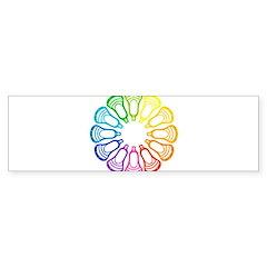 Lacrosse Spectrum Bumper Bumper Sticker