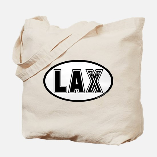 Lacrosse_Designs_Oval_600 Tote Bag