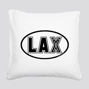 Lacrosse_Designs_Oval_600 Square Canvas Pillow