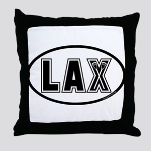 Lacrosse_Designs_Oval_600 Throw Pillow