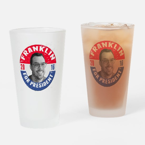 Franklin 2016 Drinking Glass