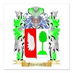 Fransinelli Square Car Magnet 3