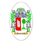Fransinelli Sticker (Oval 50 pk)