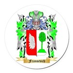 Fransevich Round Car Magnet