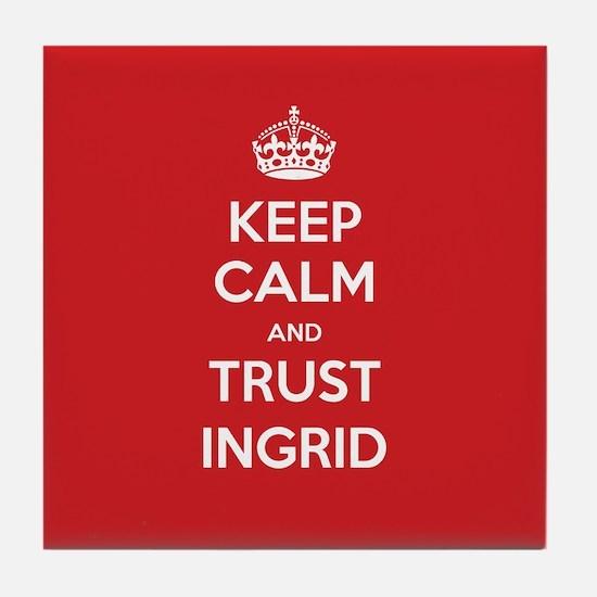 Trust Ingrid Tile Coaster