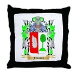 Franses Throw Pillow