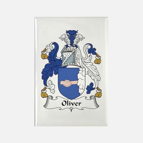Oliver (Ulster) Rectangle Magnet