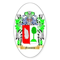 Franseco Sticker (Oval 10 pk)