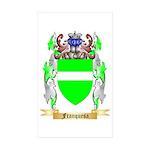 Franquesa Sticker (Rectangle 50 pk)