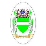 Franquesa Sticker (Oval 10 pk)
