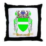 Franks Throw Pillow
