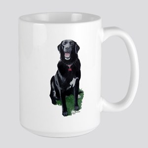 Morgan 2 Black Lab Large Mug