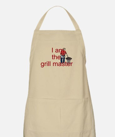 I AM THE GRILL MASTER Apron