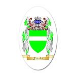 Franko 35x21 Oval Wall Decal