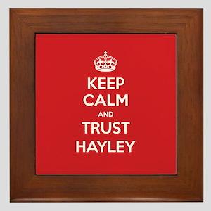 Trust Hayley Framed Tile