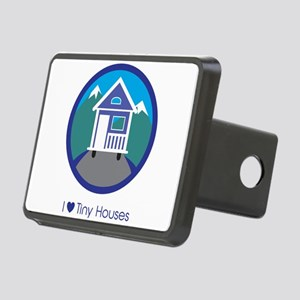 Ilovetinyhousesmountainsce Rectangular Hitch Cover