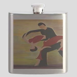 Ballroom Dancers Flask