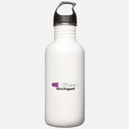 Positive Pregnancy Test Customizable Water Bottle