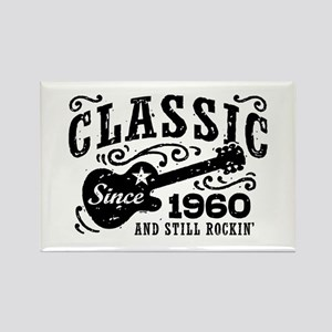 Classic Since 1960 Rectangle Magnet