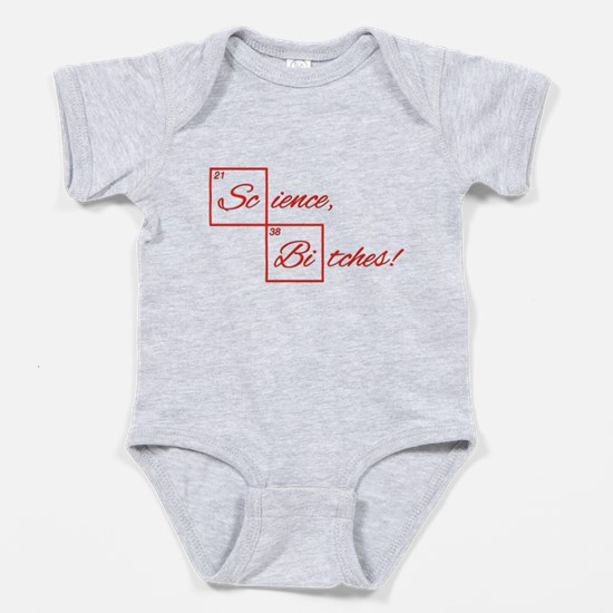 Science Bitches Baby Bodysuit