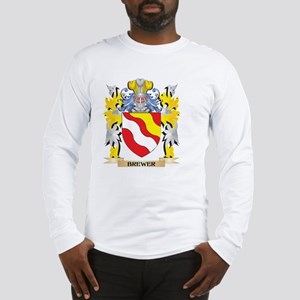 Brewer Coat of Arms - Family C Long Sleeve T-Shirt