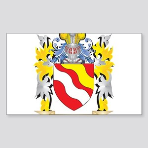 Brewer Coat of Arms - Family Crest Sticker