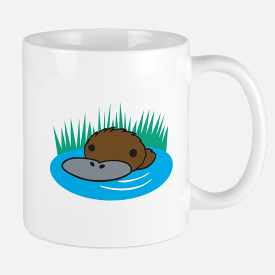 Silly Platypus in the Water Mug
