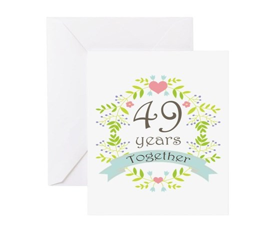 49th anniversary ideas