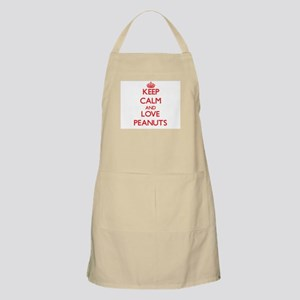 Keep calm and love Peanuts Apron