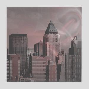 New York,soft dream Tile Coaster