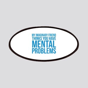 Imaginary Friend Mental Problems Patches