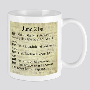 June 21st Mugs