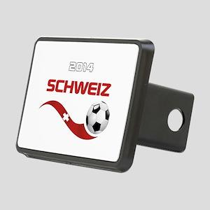 Soccer 2014 SCHWEIZ Rectangular Hitch Cover