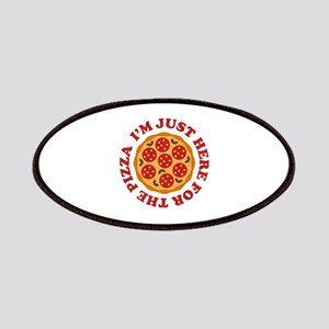 I'm Just Here For The Pizza Patches