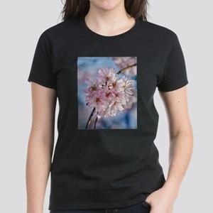 Japanese Cherry Blossoms Women's Dark T-Shirt