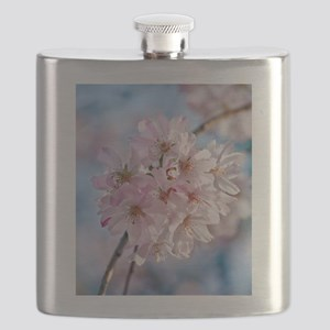 Japanese Cherry Blossoms Flask