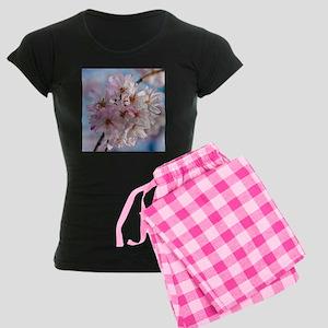 Japanese Cherry Blossoms Women's Dark Pajamas