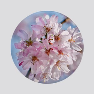 Japanese Cherry Blossoms Ornament (Round)