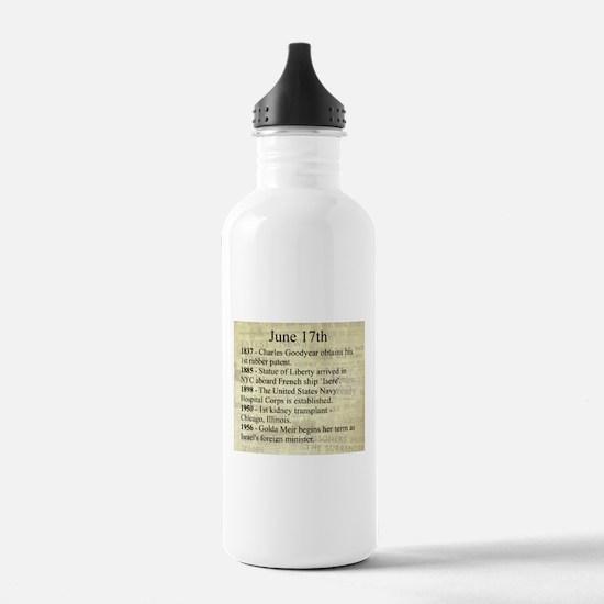 June 17th Water Bottle