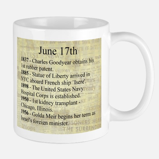 June 17th Mugs