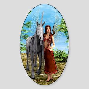 Fairy and Unicorn Sticker